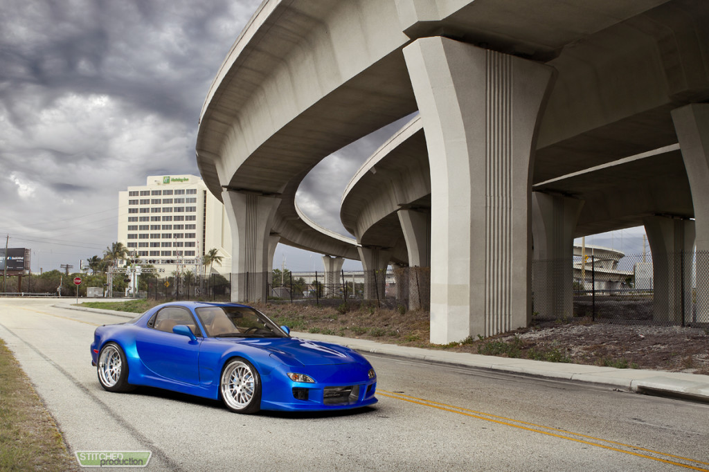 Mazda RX-7 ISS Forged-7