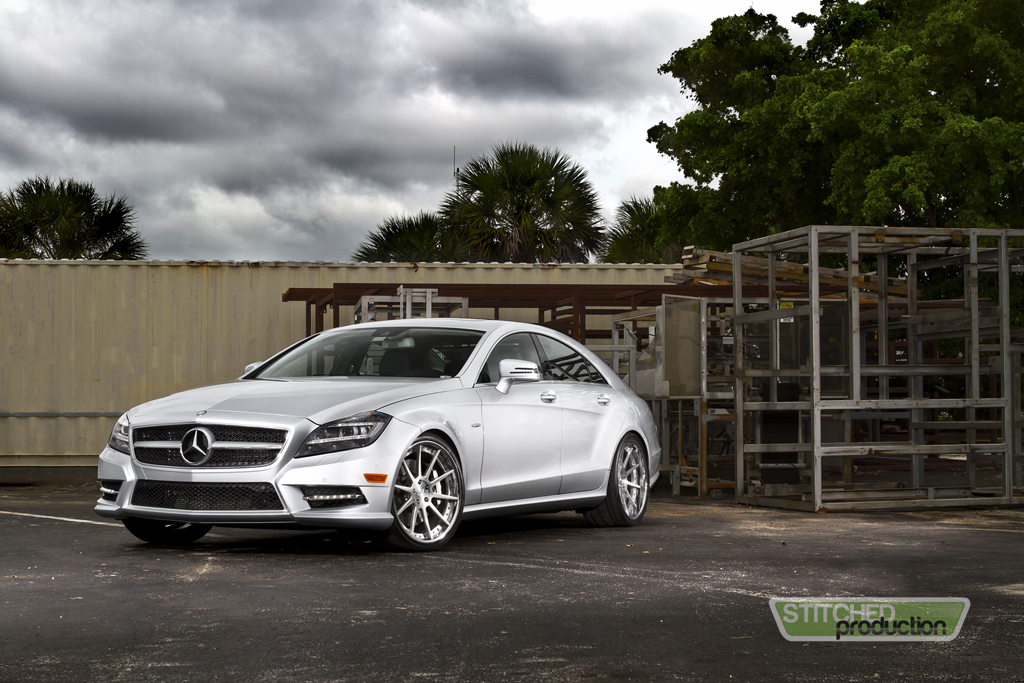 2013 mercedes benz cls550 on cor wheels stitched production for Mercedes benz service miami